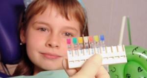 Цветные детские пломбы