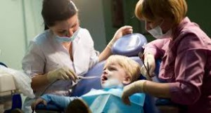 Санация полости рта у детей