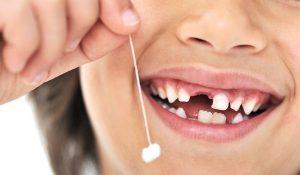 Про смену молочных зубов