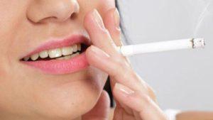 Курение и полость рта человека